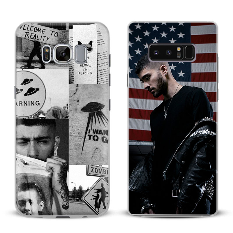 Zayn Malik Coque Phone Case For Samsung Galaxy S4 S5 S6 S7 Edge S8 Plus Note 8 2 3 4 5 A ...
