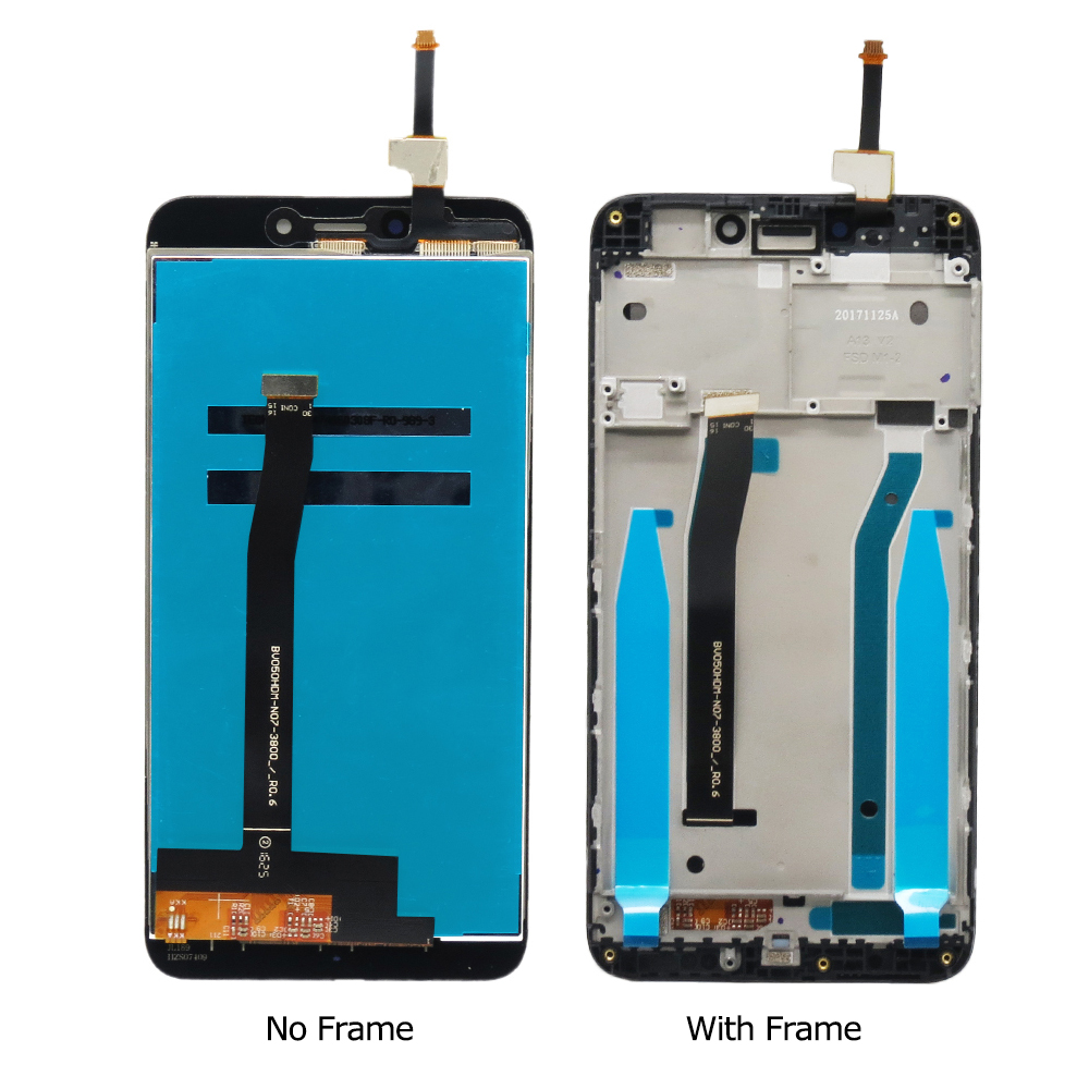For Xiaomi Redmi 4X LCD Display Touch Screen with Frame 5.0 inch Screen for Xiaomi Redmi 4X Pro Display LCD Replacement Parts