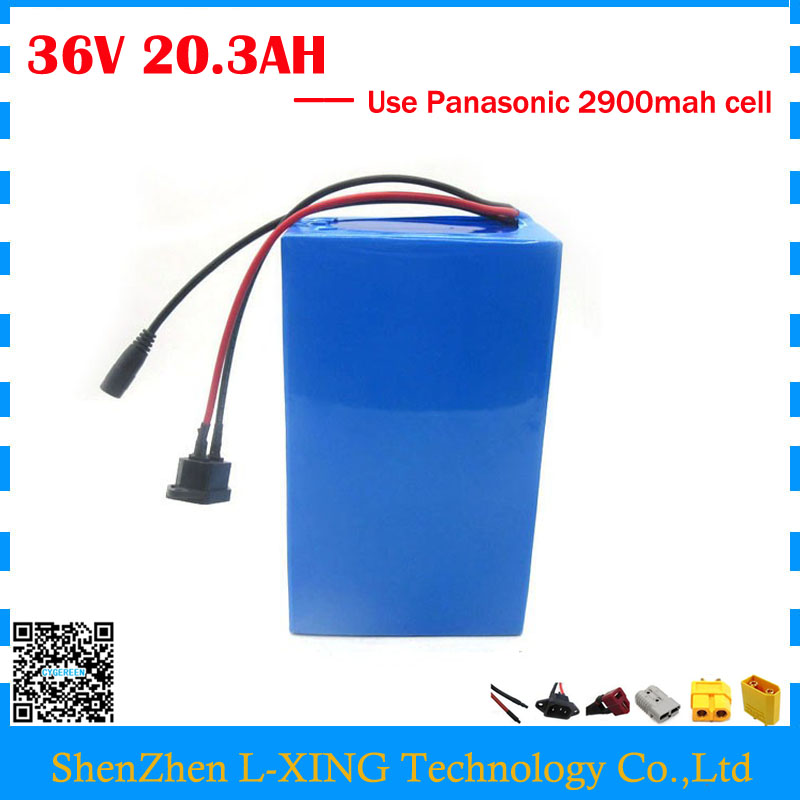Free customs fee 36V 20AH battery 36V 20AH electric bike Lithium ion battery use Panasonic NCR18650PF 2900mah cell 30A BMS us eu free customs duty lithium 48v 1000w e bike battery 48v 17ah for original panasonic 18650 cell with 5a charger 30a bms