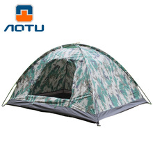 NEW 2019 Outdoor two people digital Hiking camouflage tent camping solo 2 super light tent camping tent 200*150*110cm цена 2017
