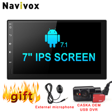 Navivox 7 One din font b Car b font Multimedia Player Android 7 1 1 Quad