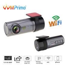 AMPrime мини автомобиль тире камера 30fps мониторы Full HD Скрытая регистратор Dashcam спереди видео регистраторы видеокамера с обнаружением движения