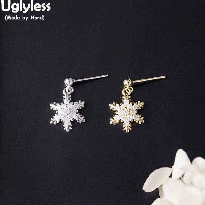 Buffalo Snowflake Stud Earring