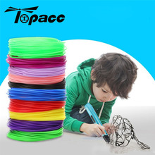 For 3D Pen Printing Creative Line 20 Colors 1.75mm 5M 10M 50M 100M Children Print Drawing PLA ABS Material Multicolor Random майка print bar drawing a line