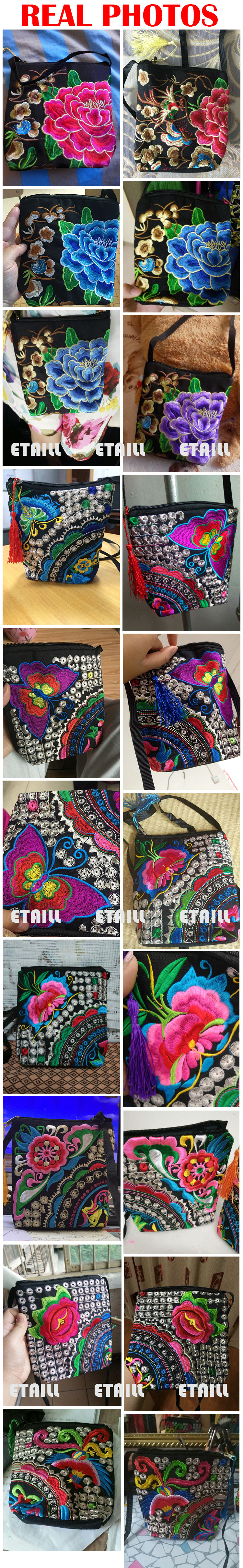 Embroidered ball Bags