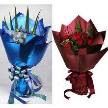 60X58 см Новые водонепроницаемые цветы платиновая бумага подарочная оберточная бумага цветы упаковка букета принадлежности крафт бумажный коврик 10 шт./лот