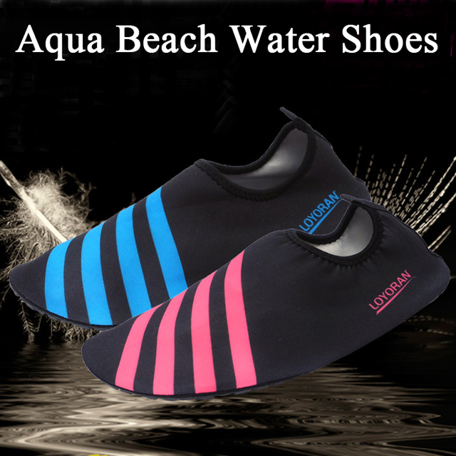 Women Men Summer Barefoot Reef Sandals Outdoor Beach Water Sports Shoes Surf Wading Swimming Hiking Fishing