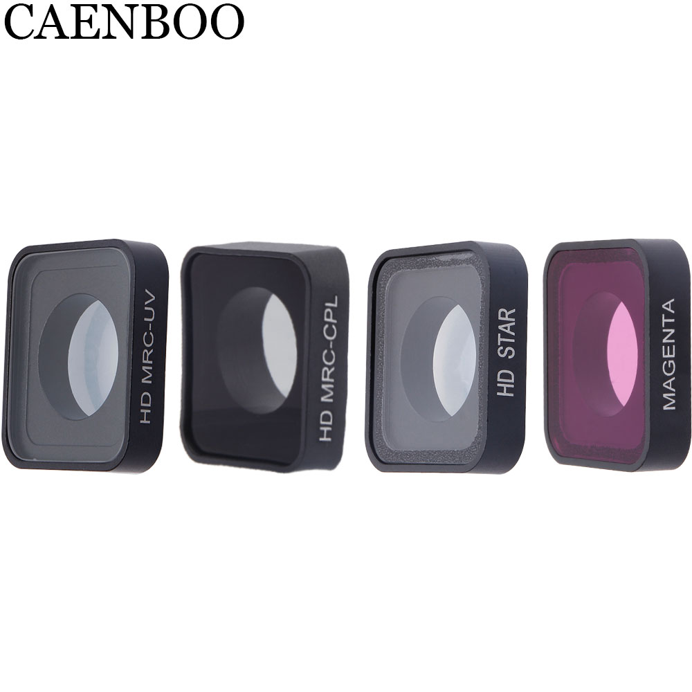 CAENBOO Sport Camera CPL Polar Red Filter Waterproof Outdoor Glass Swimming Diving For Gopro Hero 2018/6/5 Black Go pro Hero5/6