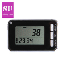 3D Sensor LCD Display Digital Walking Pedometer With 7 Days Memory Step Calorie Distance Counter Portable Running Pedometer