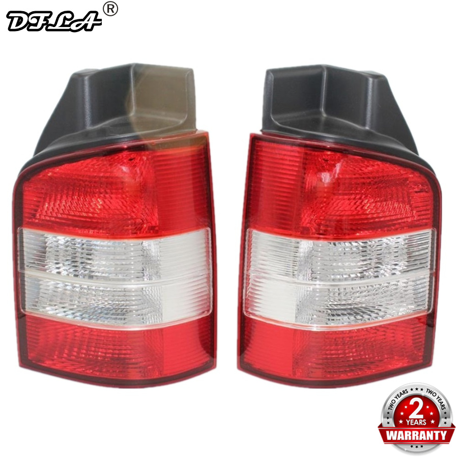For VW T5 Multivan Transporter 2003 2004 2005 2006 2007 2008 2009 Car-styling Rear Lamp Tail Light red left right car rear side tail light brake lamp light for toyota hilux 2005 2006 2007 2008 2009 2010 2015 lh rh