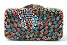 AS16-17 MYO7 Top Fashion Luxury Diamond African Handbag/Purse for Party Wedding