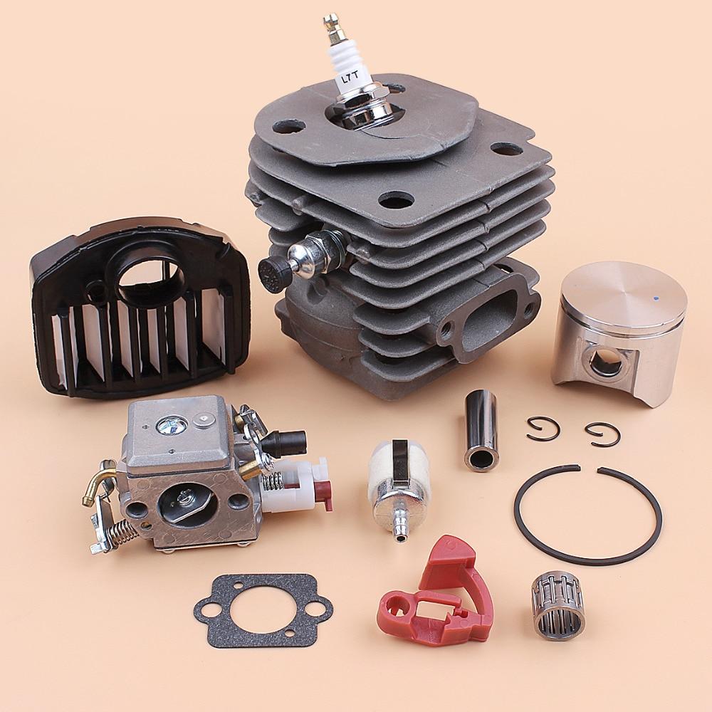 Zama C3 359 EL18B Parts Air Cylinder 357 HUSQVARNA Bearing 47MM Filter For 357XP Carburetor Carb Kit 537157302 Piston Chainsaw