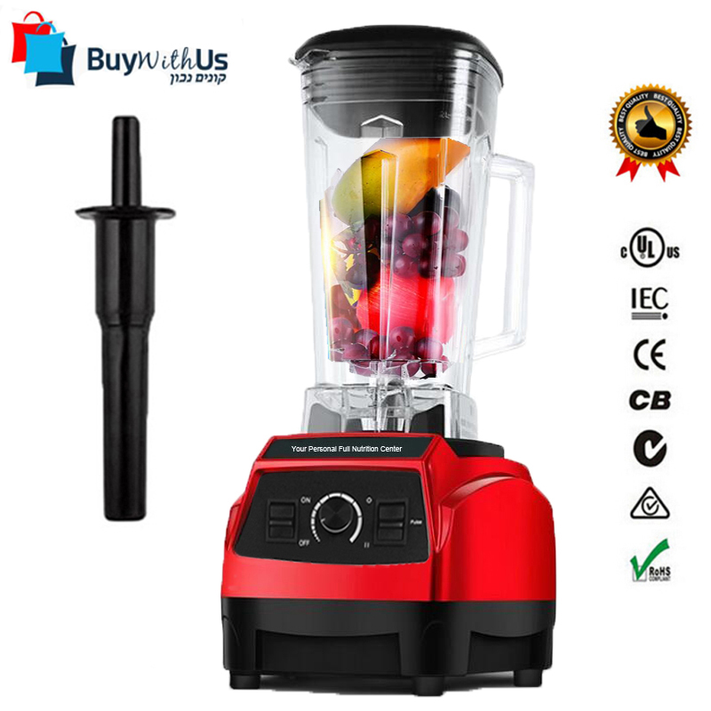 3hp bpa free 2200w heavy duty commercial blender juicer for Alpine cuisine power juicer
