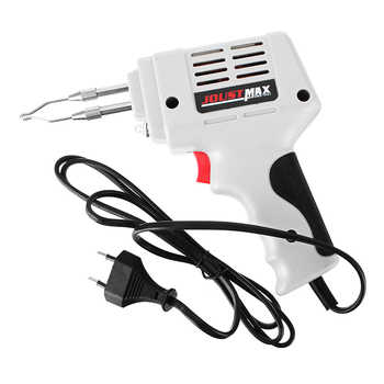 Electrical Soldering Iron Guns Hot Air Heat Guns Hand Welding Tool With Solder Wire Welding Repair Tools Kit EU 220V 100W - DISCOUNT ITEM  34% OFF All Category