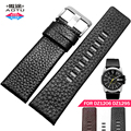 Calf Genuine Leather 22/24/26/28/30mm Watch Band Stainless Steel Pin Buckle Bracelets for Diesel DZ1405 DZ4323/4318 Straps+Tools