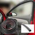 2 m Tempo Ruído Janela Da Porta de Carro Tira De Vedação de Borracha Adesiva Livre (D 13mm) Pilar