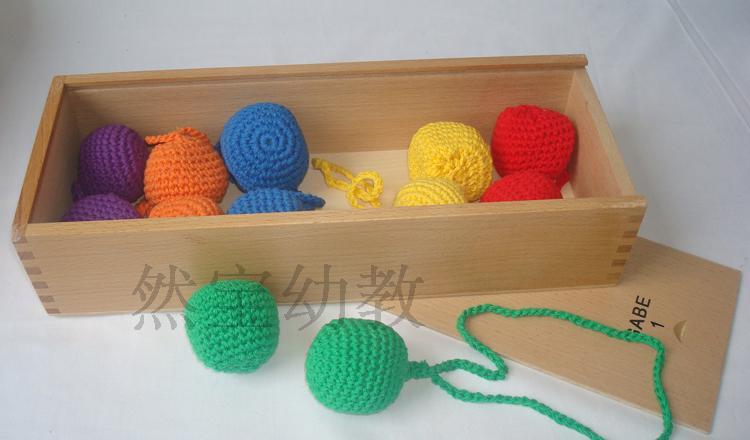 Froebel 아기 장난감 12 개/대 가베 나무 장난감 무료 배송 교육 장난감 교육 초기 개발 어린이 선물-에서블록부터 완구 & 취미 의  그룹 3