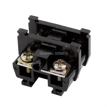 1PCS TBC-20A Suyep 20A/600V Rail Mounted Assembled Screw Terminal Block Cable Connector image