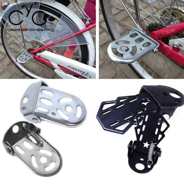 BW#A 1 Pair Bicycle Cycling Foldable Pedals Foot Pegs Mountain Road Bike Pedals