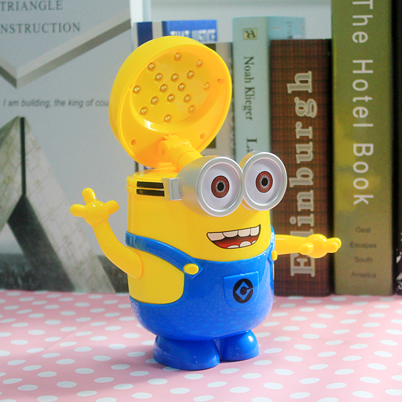 Minions Charging Lamp Learning Lamp Table Lamp Led Night Light Use As Money  Box Minions Piggy Bank For Children Gifts In LED Night Lights From Lights  ...