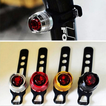 Caution warning tail rear flash helmet lights bicycle front red bike