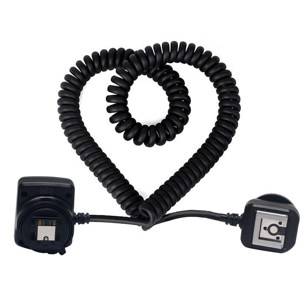 Meike MK-FA02 TTL Multi Interface Hot Shoe Flash Sync Cable Cord for Sorry Camera &Speedlite OLOONG MC-40 tl s ttl flash off camera shoe cord cable for sony dslr black