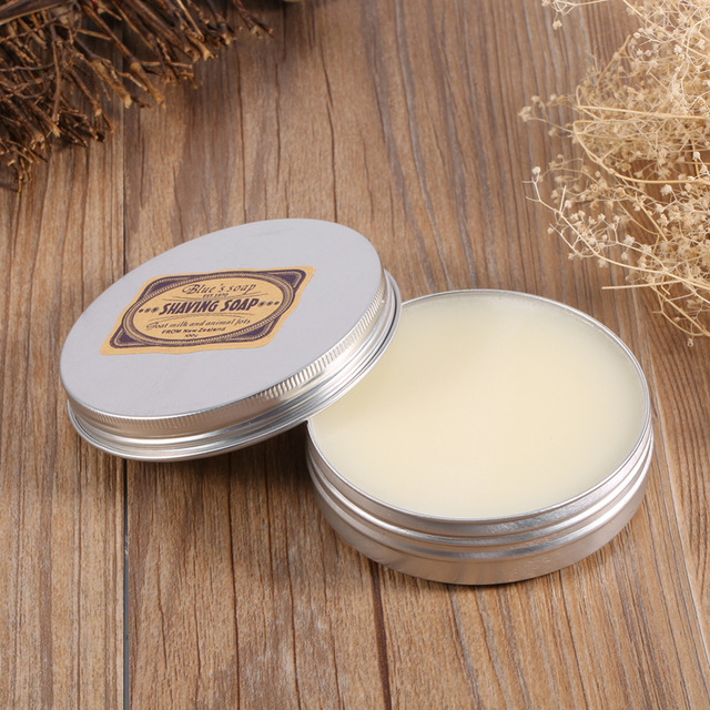 Goat Milk Mustache Shaving Soap