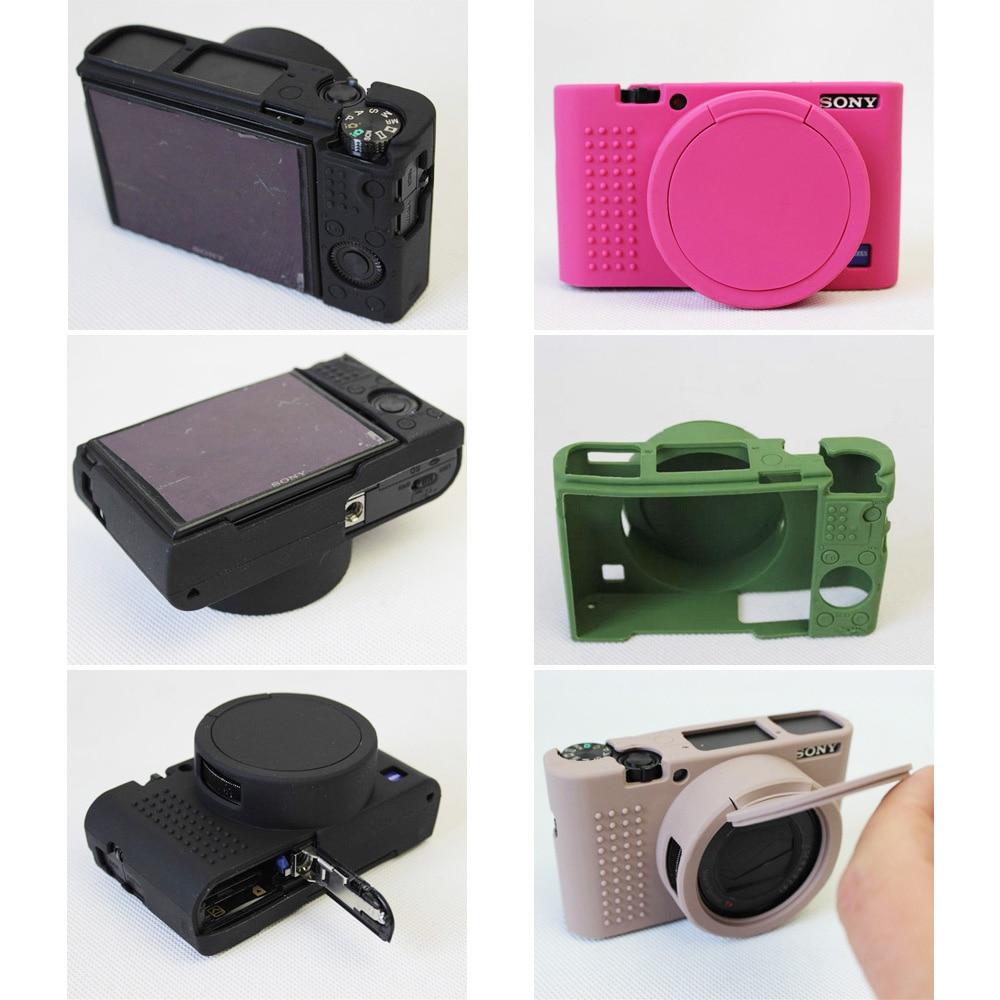 Soft Silicone Camera Case bag cover Skin for Sony DSC-RX100M5 RX100M4 RX100M3 RX100 V RX100 IV RX100III