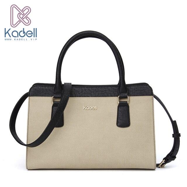 Kadell старинные сумки Женщины моды дизайнер известных брендов сумка 2017 Зима доктор сумочка из искусственной кожи Tote сумки на ремне