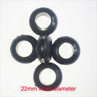 22mm diámetro interior de goma protección de cable arandela cableado agujero macho