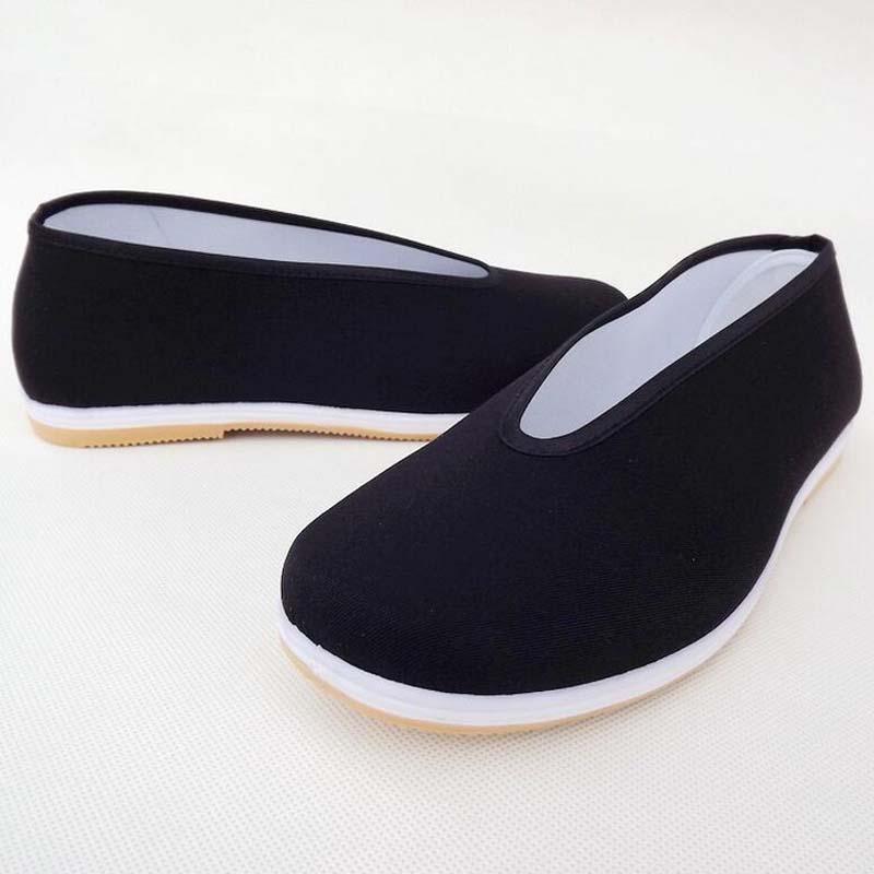 Flat Comfortable Beijing Shoes Sport Slip resistant Breathable Wushu Kung Fu Tai Chi Shoes Men Women