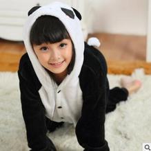 Множеств onesies cute panda панда птица мило девочки мальчики ребенка пижамы