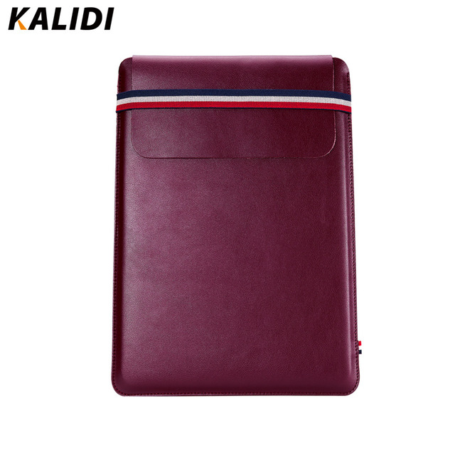 Kalidi 12 polegada de microfibra eco ultrafinos laptop sleeve case envelope tampa do Notebook PC Saco Para A Superfície Pro 3/Pro 4