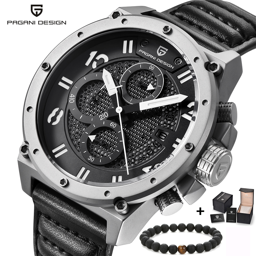 Pagani Design Mens Watches Luxury Brand Fashion Waterproof Sports Army Military Wrist Watch Men Quartz-Watch relogio masculino sinobi mens quartz watches luxury brand men s fashion watch auto calendar waterproof sports wrist watches relogio masculino 8132