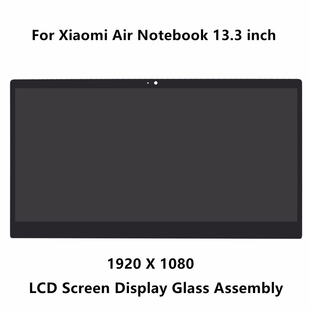 13.3 inch For Xiaomi Mi Notebook Air 13.3 LCD LED Screen Display Matrix Glass Assembly 1920 X 1080 LQ133M1JW15 30 pins IPS Panel n101l6 l02 10 1 inch notebook lcd screen