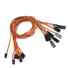 New 10Pcs 500mm Extension Servo Wire Lead Cable For RC Futaba JR 50cm Male to Female