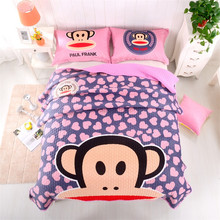 2016 bedspread, can be a quilt, can lay on the sofa when sofa cushion, can also be spread on the ground, , cartoon