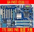 Gigabyte placa base P45 GA-P45T-ES3G lga 775 DDR3 placa base DDR III SATA para ordenador PC de escritorio Intel Core 2