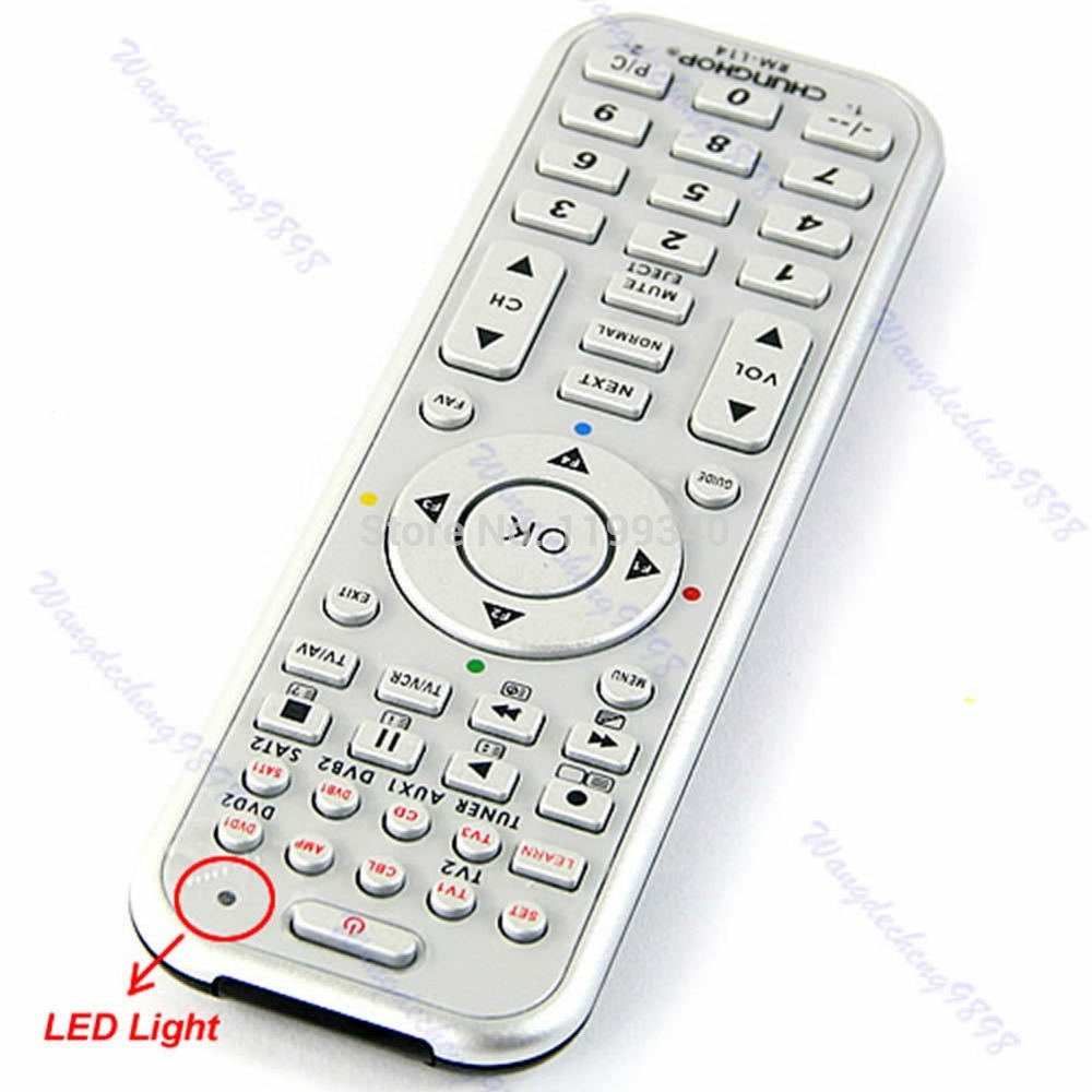 CHUNGHOPUniversal 14in1 Smart Remote Control With Learn Function For TV CBL DVD SAT DVB