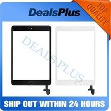 Новый Сенсорный экран планшета стекло с IC + Главная Кнопка + шлейф для iPad Mini 1 A1432 A1454 A1455 мини 2 A1489 A1490 A1491
