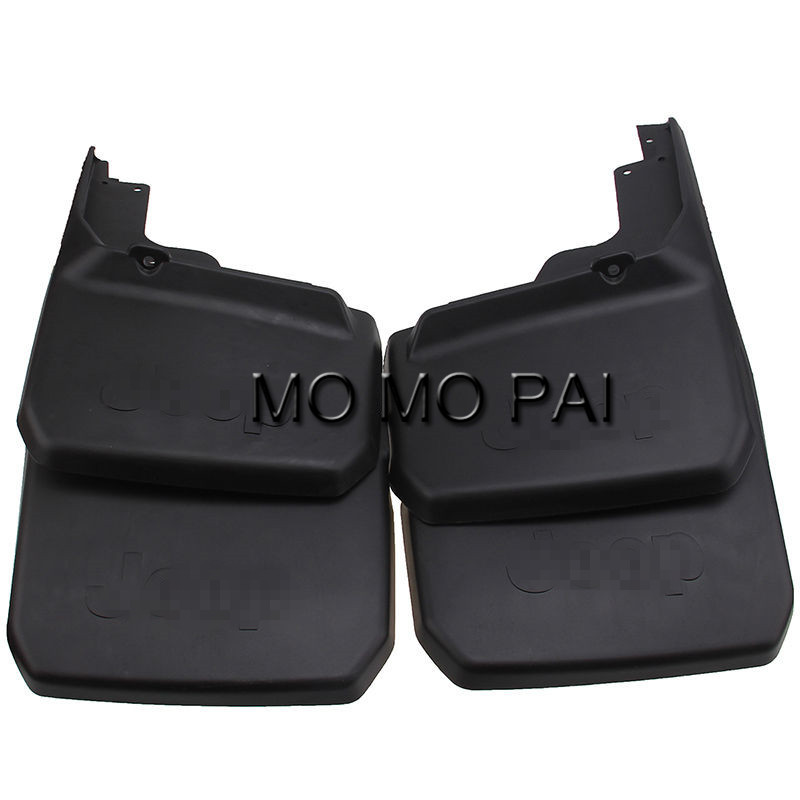 Car fender Mud Flaps Splash fit For Jeep Wrangler 2008-2015 09 Deluxe  mudguard 4 pcs / Set MO MO PAI fit for jeep patriot deluxe molded mudflaps mud flap splash guard mudguards set free shipping
