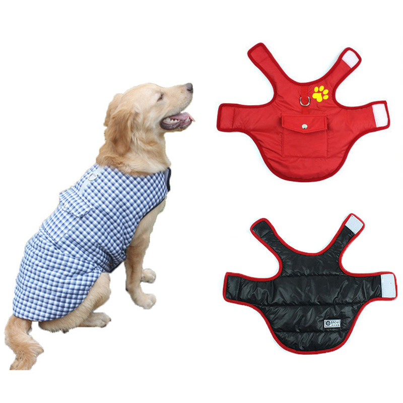 Winter Pug Jacket Dog Coats Warm Dog Clothes for Small Dogs Puppy Cat Clothes Chihuahua Fr