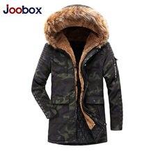 2018 Winter European Men s Long Mianfu Even Hat Thickening Windbreak  Cotton-padded Jacket Male Amazon 447701c5696c