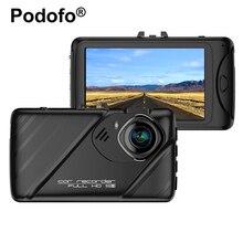 Podofo 3.0 Inch Car DVR Camera Dashcam NTK96658 Full HD 1080P Auto Video Recorder HDR G-sensor Night Vision Registrator Blackbox