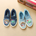 In the autumn of 2016 a new children's canvas shoes shoes for men denim baby shoes casual shoes slip-on