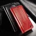 Luxo magnetic auto flip caso de telefone original para samsung galaxy s4 mini tampa do suporte de couro genuíno caso wallet js0388