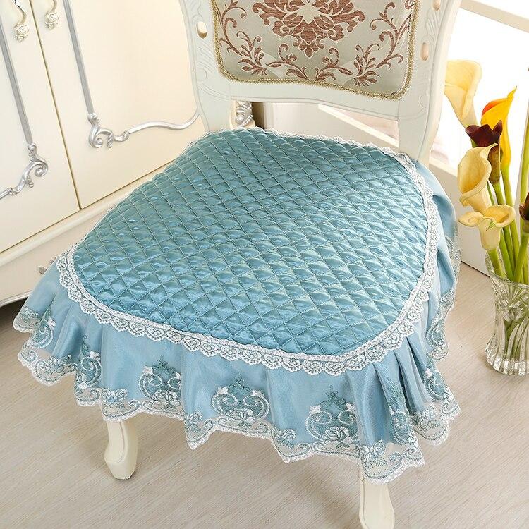 2016European Dining Chair Cushion Non Slip Idyllic Solid Table Cloth Stool