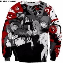PLstar Cosmos Harajuku style 3d Print Unisex Men Women Anime Naruto Sweatshirt new fashion hoodies tops drop shipping