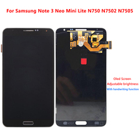 For Samsung Galaxy Note3 Note 3 Neo Mini Lite N750 N7502 N7505 LCD Screen Display Touch