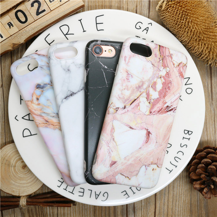 Phone Case for iPhone 8 8plus 7 6s 6 plus iPhone6s i6 iphone7plus Silicone Case 3D Protector TPU Matte Cover Cases fundas Capa ...